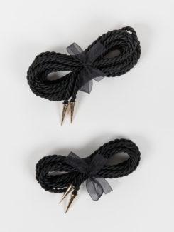 Fraulein Kink-Caviar Bondage Lasso Rope Black