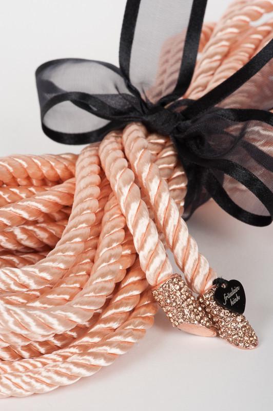 Fraulein Kink-Chérie Bondage Lasso Rope Rose Gold