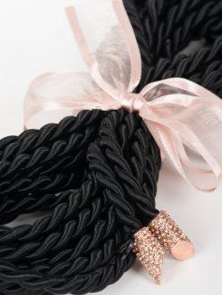 Fraulein Kink - Nénette Bondage Lasso Rope Black